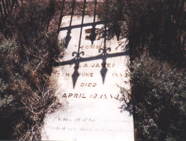 this headstone no longer stands