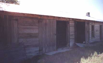 inside these doors is a pit that provides access to the undercarriage of cars